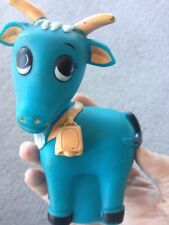 Vintage Evenflo Squeeze Squeaker Chum Baby Billy Goat Toy