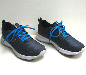 d63e6554ce4f5 Reebok M-48710 Gray Blue Speed Rise Mens Running Shoes Sneakers Size ...