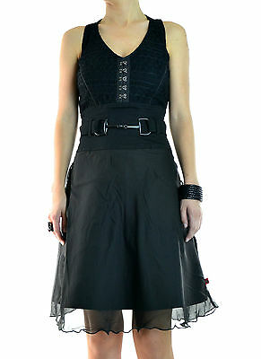 TRIPP halter lace sexy GOTHIC PUNK EMO ROCKABILLY MARILYN DRESS TATTOO IO2611