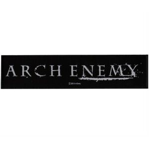 Arch-Enemy-Logo-Woven-Strip-Patch-Official-Metal-Band-Merch-New