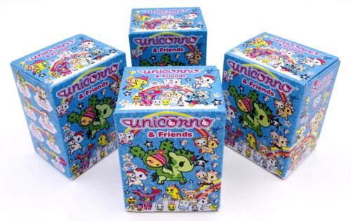 SET OF 4 BLIND BOXES UNICORNO AND FRIENDS TOKIDOKI VINYL TOY MINI FIGURE