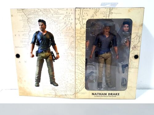 NATHAN DRAKE UNCHARTED 4 ACTION FIGURE NECA PRODOTTO NUOVO!