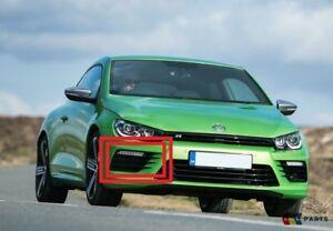 Nuovo Originale VW Scirocco 15-17 Paraurti Anteriore Centrale Griglia Inferiore