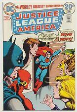 JUSTICE LEAGUE OF AMERICA #109 JLA HIGH GRADE Hawkman Jan Feb 1973