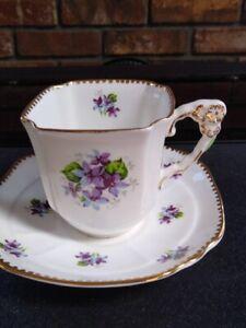 Royal Stafford vintage bone china tea cups and saucer
