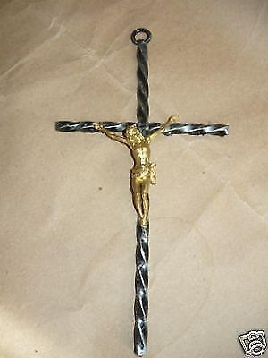 Crocifisso Cristo in Ferro Battuto Semplice