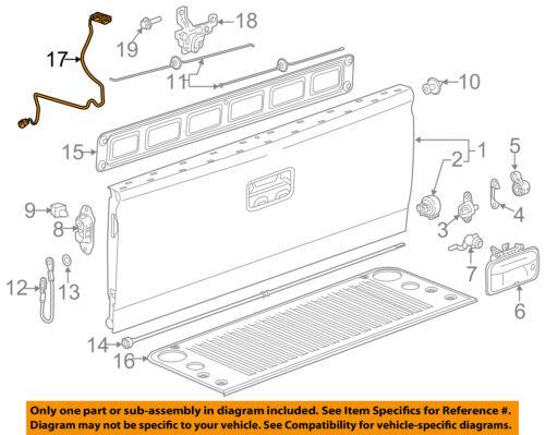 GM OEM Rear View-Backup Back Up Camera 84062896