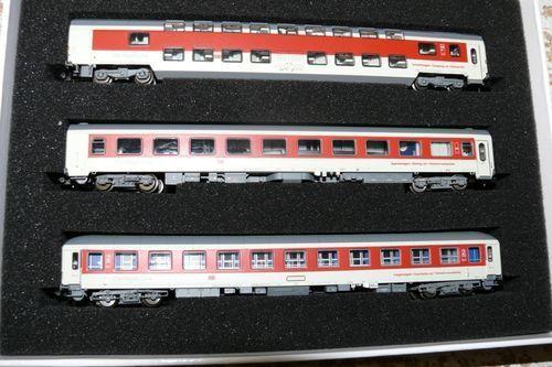 SH L.S. Models 79 052 Vagoni Set 1 CNL Sirius DB AG N SP