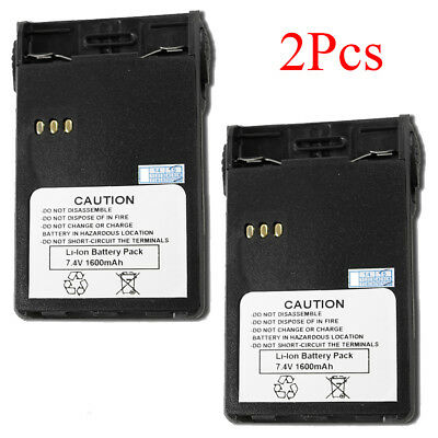 2 x Li-ion Battery For PUXING PX-328 PX-728 PX-777plus PX-888K 7.4V 1600mAh
