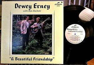 RON-ESCHETE-w-Dewey-Erney-LP-A-Beautiful-Friendship-Discovery-DS-881-1983