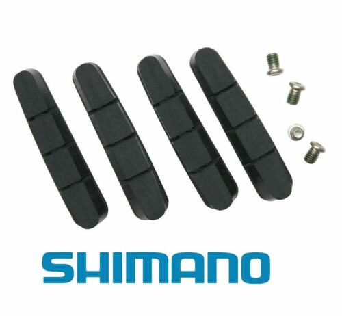 Ultegra /& 105 Set of 4 R55C3 Ceramic Rims Shimano Brake Shoes Pads Dura-Ace