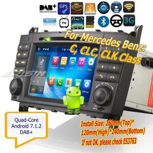 Mercedes-Car-Stereo-Android-7-1-C-CLC-CLK-Class-W203-W209-DVD-DAB-OBD-DVR-3769G