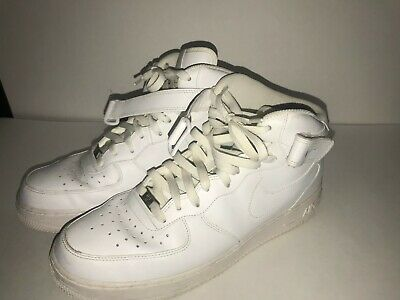 Nike Air Force 1 Mid 07 WhiteWhite Mens Fashion Sneakers 315123 111
