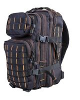 Army Military Tactical Combat Rucksack Backpack Molle Day Pack Bag 28l Black