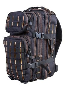 Small Molle Tactical Army Assault Pack 28 Litre Daysack Rucksack Cadet Bag MTP