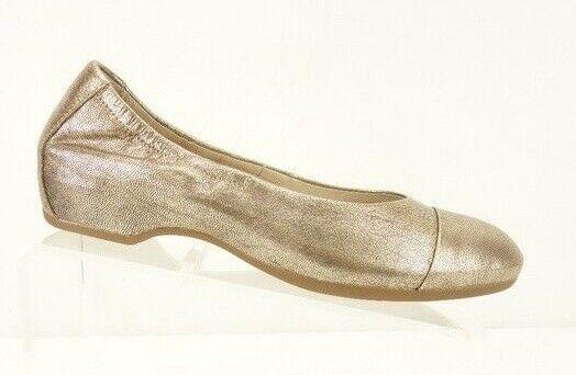 classico senza tempo NEW DANSKO DANSKO DANSKO Linsanne Ballet Flats Donna  37 6.5-7 oro Leather scarpe  145  comprare a buon mercato