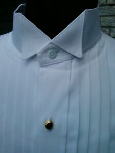 New-for-Men-Formal-Dress-or-Tuxedo-Shirt-Standard-Collar-or-Wingtip-Collar