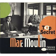 MARC MOULIN - Top secret - CD 2001 OTTIME CONDIZIONI