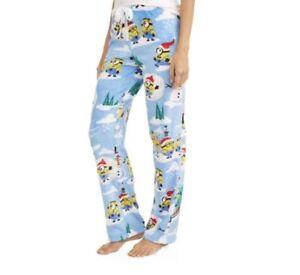 emoji pajamas womens 2X fleece lounge pants bottoms new 18w//20w gray smile F9
