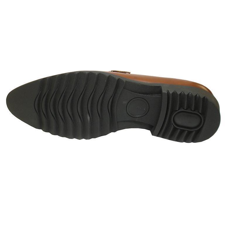 Neuf Encore Fiesso Marron / Foncé Bicolore Boucle à Enfiler Chaussures Chaussures Enfiler Habillées 5e1a4a