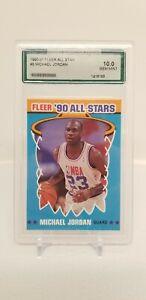 1990-FLEER-ALL-STARS-MICHAEL-JORDAN-5-AGS-10-GEM-MINT-PSA-HOT