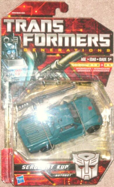 Transformers G1 Generations CHUG Deluxe Segeant Kup MOSC
