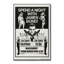 The James Bond 007 Hot Movie Art Silk Poster Print 13x18 24x32 inch
