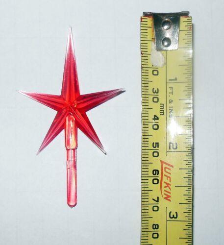 "Red Star 3/"" Plastic Christmas Tree Ceramic NIP Replacement Ceramic Trees"