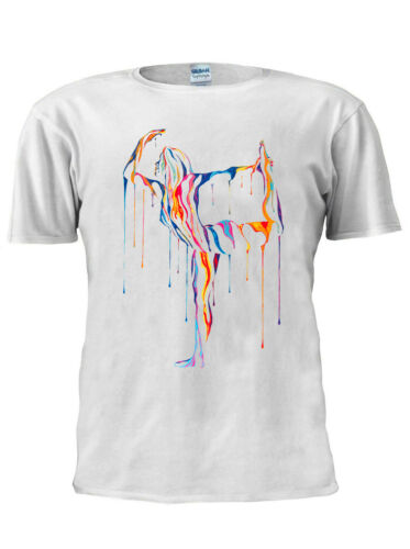 Female Dance Ballerina T Shirt Trendy Tshirt Men Women Unisex White M604