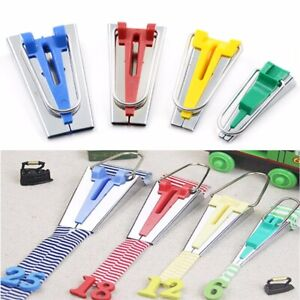 Fabric Bias Tape Maker Tool Size 6mm 12mm 18mm 25mm Fabric bias Binding Fabric Bias Tape Maker for Sewing Quilting