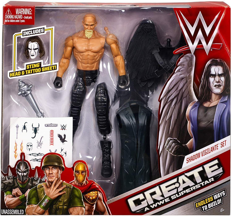 Tas038495 - 2015 Mattel Create a WWE Superstar Shadow Vigilante ...