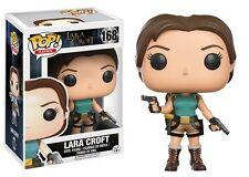 Pop! Games Tom Raider lara Croft #168 Vinyl Figure Funko