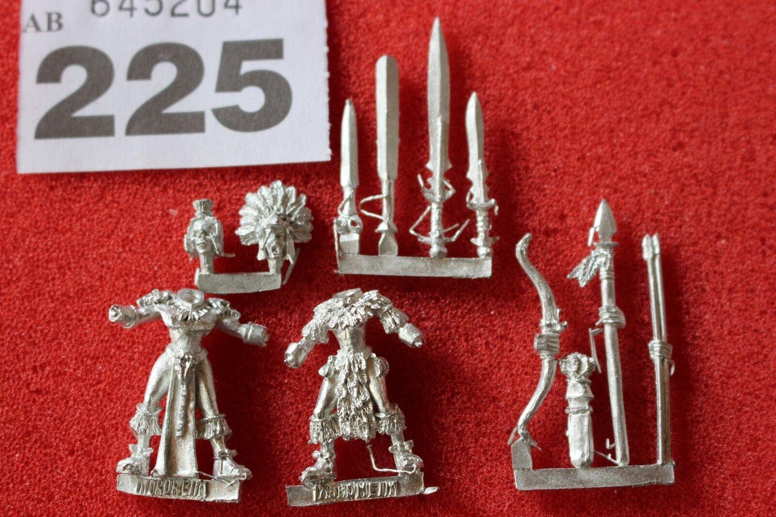 Games Workshop Mordheim Amazons Totem Warriors 2x Models Warhammer Mint New OOP