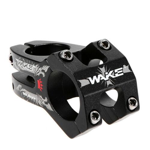 1pcs New WAKE MTB Bike Handlebar Stem AL Mountain Bike Bicycle Stem 31.8*28.6mm