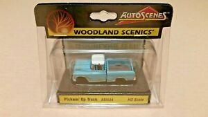 HO-Scale-Woodland-Scenics-Pickem-039-Up-Truck-Auto-Scene-039-s-AS5534