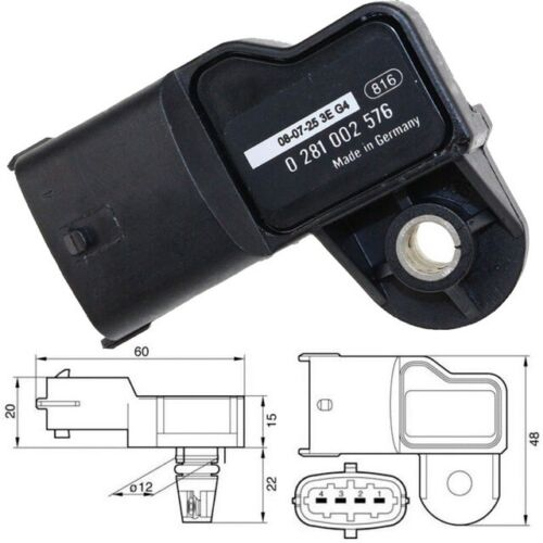Bosch Manifold Absolute Pression D/'Air Map Capteur Pour Volvo FE FH FL IVECO Renault