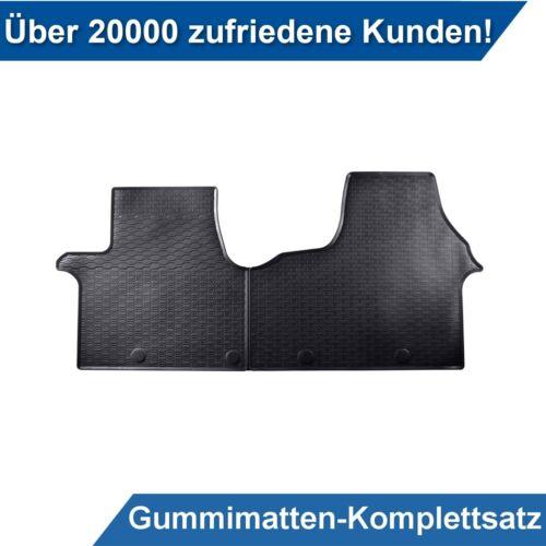 Für Renault Traffic III ab 14 Gummimatten Fußmatten Spezifisch Kpl.