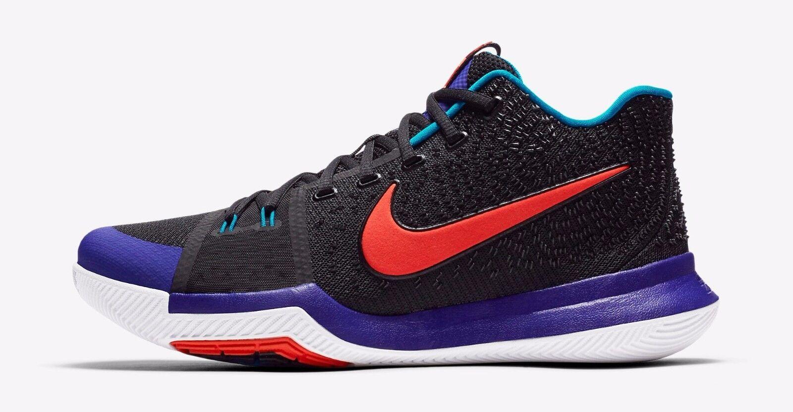 Nike Kyrie 3 Kyrache Light Black Team orange Concord Irving  852395 007