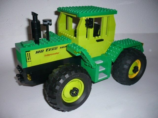 Bausatz MB-Trac 1800 Intercooler Traktor 1:18 aus Lego® Bausteinen