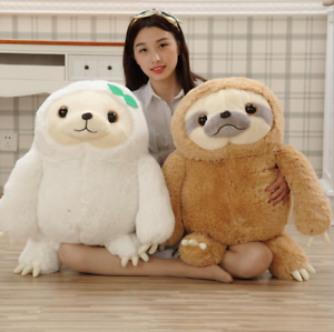 UK-Cute-Giant-Sloth-Stuffed-Plush-Toys-Pillow-Cushion-Gifts-Animal-Doll-Soft