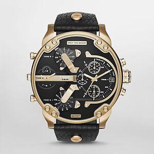 Diesel-Original-DZ7371-Mr-Daddy-2-0-Black-Leather-Strap-Watch