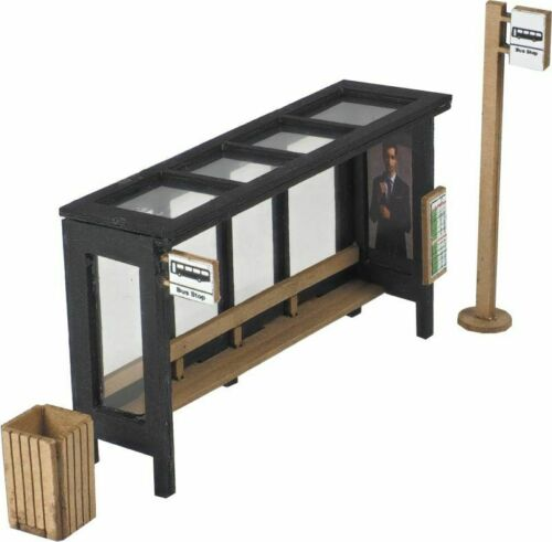 METCALFE PO525 00//H0 Scale Bus Shelter