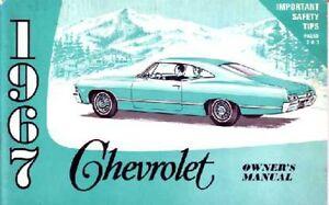 1967 chevrolet caprice impala owners manual user guide operator book rh ebay com 2013 Chevrolet Caprice Pricing 2002 Caprice Cop Car