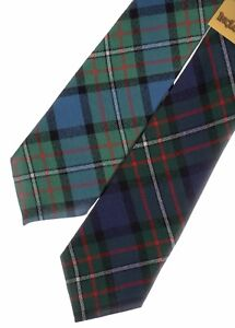Mens Tie All Wool Made in Scotland Gunn Ancient Tartan