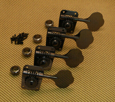 NEW Gotoh Bass TUNERS for Fender Precision /& Jazz Bass 21:1 Nickel TK-0908-001
