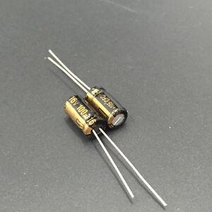 10pcs 100uf 16v Radial Aluminum Solid Capacitors 16v100uf Low ESR