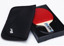 New DHS double happiness 6002 table tennis rackets Shake-hands grip long handle