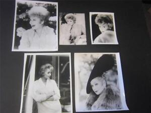 I-Love-Lucy-Lucille-Ball-5-pc-Publicity-Photograph-Reprint-Lot-B-Great-GIFT-New