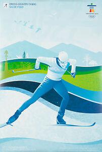 Cartel Vintage Original Juegos Olimpicos De Invierno De Vancouver