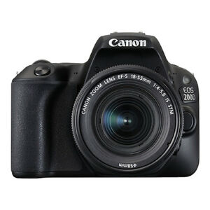 Canon EOS 200D / Rebel SL2 24.2 MP Digital SLR Camera with 18-55mm Lens 4549292091335